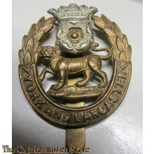 Cap badge York and Lancaster Regiment