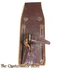 South African Leather Bayonet Frog