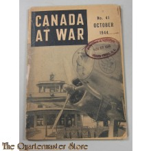 Booklet Canada at War No. 41 Okt 1944  Wartime Information Board