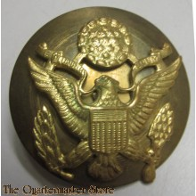 US Army Enlisted Man's Visor Cap Badge