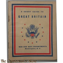 Booklet a short guide to Great Britain 1943