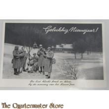 Prent briefkaart mobilisatie 1939 Klaar Jaar