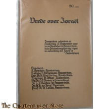 Boekje Vrede over Israël 19 sept 1935 Appolohal Amsterdam
