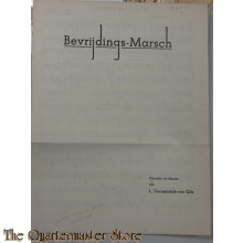Book music/song/text Bevrijdingsmarsch 1945