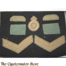Canada set 4th canadian division WW2 specialist Carpenter, Joiner & Wheelwrightt