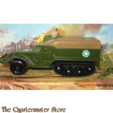 Matchbox Battle Kings K-108 M3 A1 Half Track APC - by Lesney