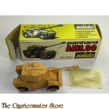 Solido 240 Model Name: Panhard AML 90 Color/Variation: Sand Details: Panhard AML 90. Diecast metal model. Weight: 155g Length: 110 mm