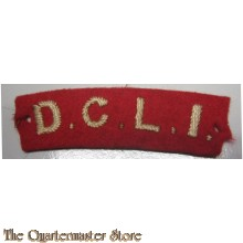 Shoulder title D.C.L.I. (Duke of Cornwall's Light Infantry)