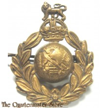 Cap badge Royal marines WW2