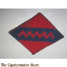1st and 2nd Canadian AGRA RCA formation patch canvas