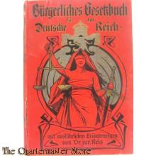 Burgerliches Gesetzbuch fur das Deutsche Reich