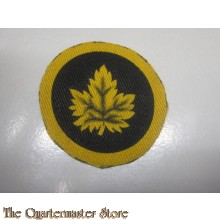 Canadian Military Headquarters Formation Patch (canvas)