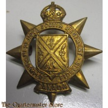 West Nova Scotia Regiment Cap Badge