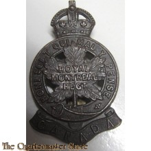 Cap badge WW1 Royal Montreal Regiment