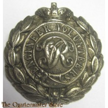 Cap badge Victorian Royal Engineer Volunteers
