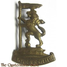 Cap/collar badge  New Zealand Rifle Brigade