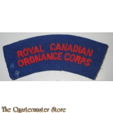 Shoulder title Royal Canadian Ordnance Corps