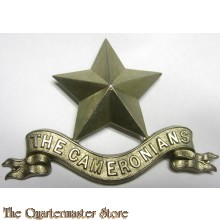 Pipers Badge The Cameronians Scottish Rifles
