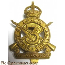Cap badge County of London Yeomanry