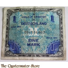 Invasion money 1 Mark 1944