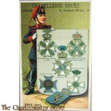 Card chapellerie Douez , Lille  2 Grande Place 2