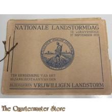Boekje Nationale Landstormdag 's Gravenhage 27 sept 1928