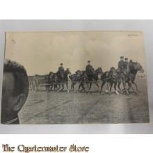 Prentbriefkaart 1930 Artillerie