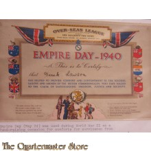 Document Empire Day 1940