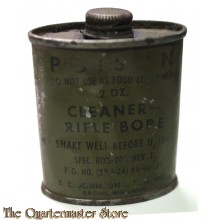 Tin cleaner rifle bore US Army WW2