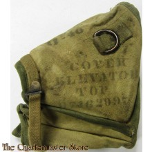 "WWII Elevator top canvas case for the Browning M2 machine gun. For condition see photos. Size: 9"" x 10"""
