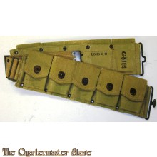 WWI US Army Dismounted M1917 Cartridge Belt for M1903 Rifle Infantry Marked 1918