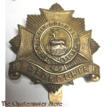 Cap badge Bedfordshire Regiment