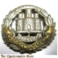 Cap badge Northamptonshire Regiment