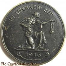 Gedenkmünze In Eiserner Zeit 1916 (Comm coin 1916 Iron Times)