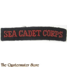 Shoulder  title Sea Cadet Corps Royal Navy