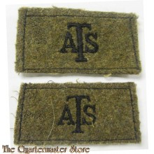 Slip ons A.T.S. (Auxiliary Territorial Service)
