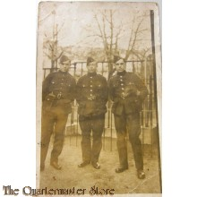 Photo 3 Belgian soldiers  WW1