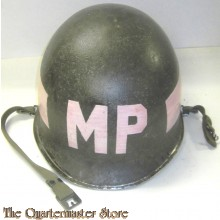 WW 2 front seam swivel bail M1 with Korea Period MP markings