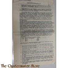 Proces verbaal met verklaringen Radiotoestel Opl. Centrum Pantsertroepen 1949