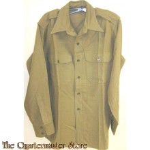 U.S. Army Shirt, Officers , Flannel, OD