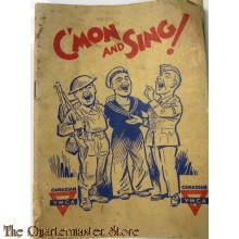 WW2 Songbook YMCA C'mon and Sing (Canada)