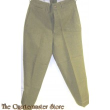 Trousers special Olive drab EM Wool serge