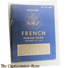 French phrase book 1943