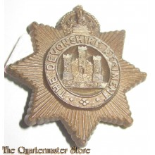 Devonshire Regiment WW2 Plastic Economy Cap Badge