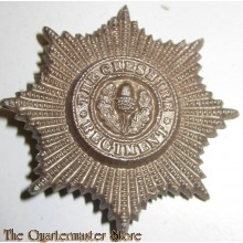 Cap Badge Cheshire Regiment Economy (plastic)