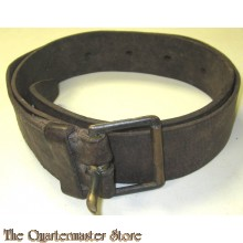 Kriegsmarine leather belt
