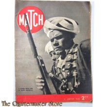 Magazine MATCH 11 janvier 1940 Le  Goum veille sur la piste imperiale