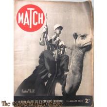 Magazine MATCH 13 julliet 1939 A la tete du peleton blanc