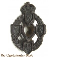 Cap badge Royal Electrical and Mecanical Engineers Economy plastic WW2