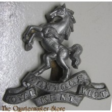 Royal West Kent WW1 Queens Own Royal West Kent Regiment RWK Cap Badge